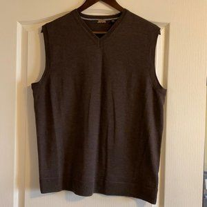 Murano 100% Merino Wool Men's Vest - size L